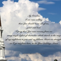 Prayer for the removal of all things that hinder