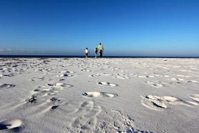 Footprints to my boys